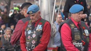Calgarians gather at Field of Crosses to mark Remembrance Day