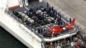 18.5 tonnes of cocaine seized by U.S. Coast Guard
