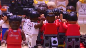 Raptors fan explains why he recreated Kawhi Leonard's buzzer-beater with Lego