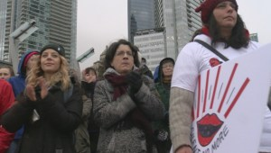 Thousands take part in Vancouver Women's March