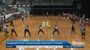 Toronto hosts the Dodgeball World Championships