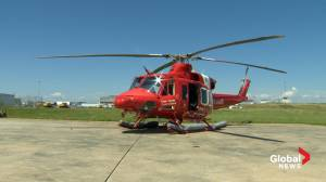 Canadian Coast Guard unveils new Bell 412 helicopter for Atlantic region