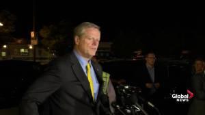 Massachusetts fire, explosion sites still 'active scene' says Massachusetts governor