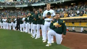 First MLB player took a knee during Anthem after Trump NFL attacks