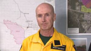 Alberta Wildfire commander Scott Elliot on 'extreme' High Level fire