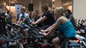 12-hour 'joy ride' raises money for Children's Wish Foundation, Stollery Children's Hospital