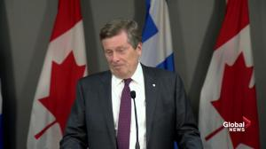 Tory 'angry at the process' over Ford proposal to cut TO city council