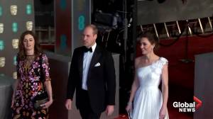 Prince William, Kate join stars for BAFTA Awards