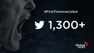 Most recent hate crime statistics, social media reaction to #FirstTimeIwasCalled