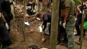 Human remains found at suspected Rohingya camp