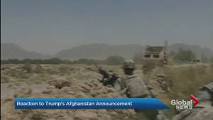 'War is pointless': veteran reacts to Trump's plans in Afghanistan