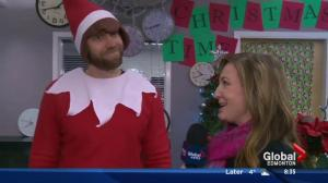 Real life Elf on the Shelf surprising students at school in Westlock, Alta.