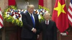 U.S. President Donald Trump meets Vietnamese President Nguyen Phu Trong