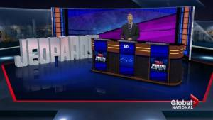 """Canadians. Who likely won't be on """"Jeopardy!"""" anymore? (02:32)"""