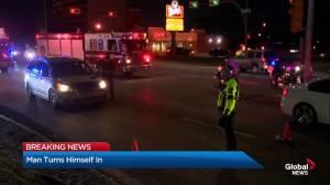 Man in custody after fatal Calgary in hit-and-run crash
