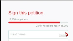 Student's petition gains massive support