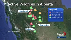May long weekend moisture not enough to quash wildfire concerns in southern Alberta