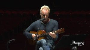 You've never seen a Sting performance like this before