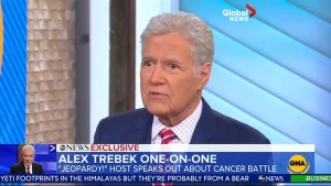 Alex Trebek gives first interview since cancer reveal: 'I'm fighting'