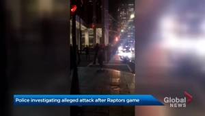 Video appears to show Toronto couple being assaulted after Game 5 of NBA Finals
