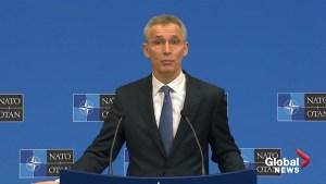 U.S.-Russia nuclear treaty 'in real danger': NATO chief