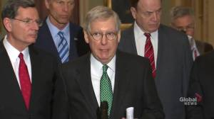 McConnell recommending spending bill to Trump to avoid another government shutdown