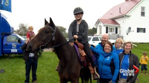 Children's Wish Foundation surprises Nova Scotia girl with new horse