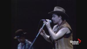U2 perform 'I Will Follow' on 1987 Joshua Tree tour at BC Place