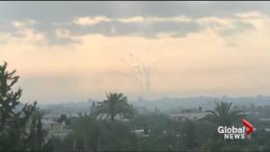 Israel, Gaza exchange fire in deadliest battle since 2014 invasion