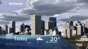 Edmonton early morning weather forecast: Thursday, June 27, 2019