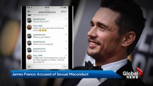 James Franco accused of sexual misconduct
