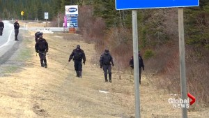 Police continue search in Kananaskis where bodies of Jasmine Lovett, Aliyah Sanderson were found