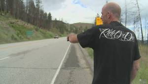 Okanagan motorcyclist hits deer and survives
