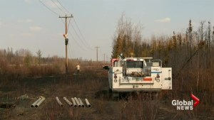 Crews work to restore electricity to Fort McMurray