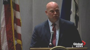 Acting U.S. Attorney General, Matt Whitaker speaks at Iowa Summit