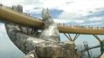A look at Vietnam's 'Golden Bridge,' a colossal pair of hands lifting a golden walkway