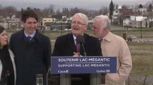 Relocation of Lac-Megantic rail bypass cuts through private properties
