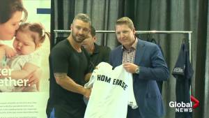 NHL players gather in Kelowna for fundraiser (01:04)