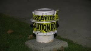 Kelowna waterfront lights further vandalized