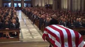 America pauses to bid final farewell to George H.W. Bush