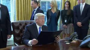 Trump signs executive order to expedite environmental reviews for infrastructure projects