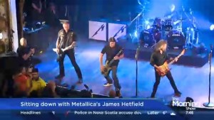 Sitting down with Metallica's James Hetfield following the band's intimate Toronto benefit show