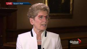 Alan Carter speaks one-on-one with Premier Kathleen Wynne about Ontario Budget 2017