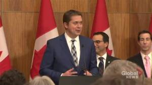 Andrew Scheer applauds Jewish community for 'unity in the face of immense sadness'