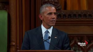 'We honour all those taken from us by violent extremists': Obama remembers slained Canadians