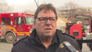 Interview with Kelowna fire captain after Pandosy building fire