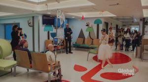 Joffrey Ballet student is dancing for children in hospitals around the world