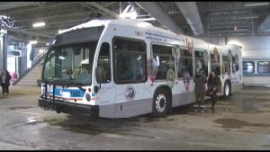 Kingston Art Students Wrap City Bus