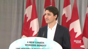 Trudeau discusses free trade agreements around the world