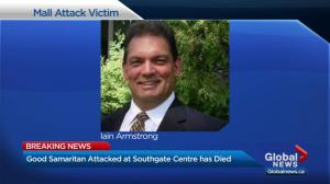 Victim of violent attack at Southgate Centre dies
